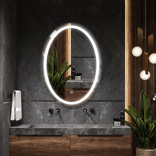 Oval LED Bathroom Vanity Mirror LK-M5070